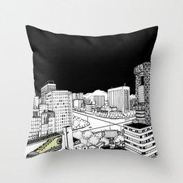 Jongro Street Throw Pillow
