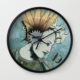 Queenflowers Wall Clock