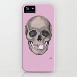 Girlish SKull iPhone Case
