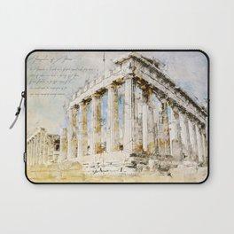 Acropolis, Athens Greece Laptop Sleeve