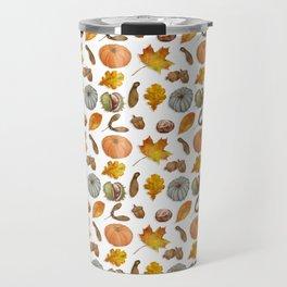 Autumnal Elements Travel Mug