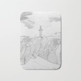 Sword of Hope Bath Mat