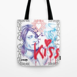 K for Kiss Tote Bag