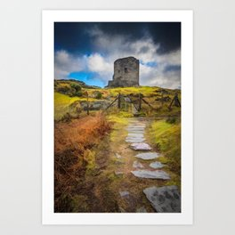 Dolbadarn Castle Llanberis Wales Art Print