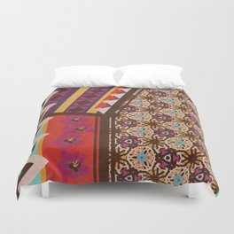 Zimbabwe Multi With Texture Duvet Cover