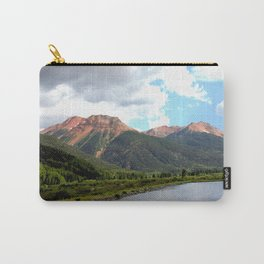 Red Mountains of the 1880's Gold Rush Carry-All Pouch