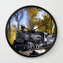 Cumbres and Toltec Railroad Wall Clock
