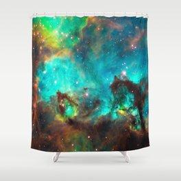 Galaxy / Seahorse / Large Magellanic Cloud / Tarantula Nebula / Space / Universe / Shower Curtain