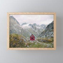 Mint Hut Framed Mini Art Print