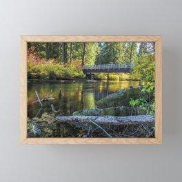 Fall at Clear Lake, No. 1 Framed Mini Art Print