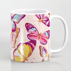 Aflutter in Blush Mug
