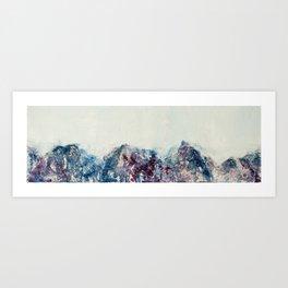 Mountains I Art Print