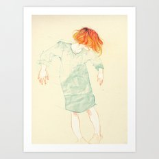 Move! Art Print