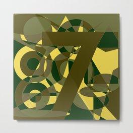 Ketu No.7 Metal Print