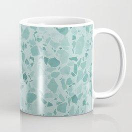 Teal Terrazzo Coffee Mug