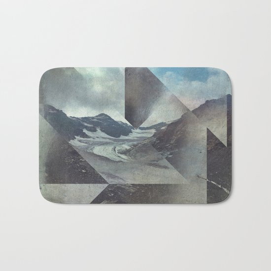 Mountains Glacier - Cuts Bath Mat