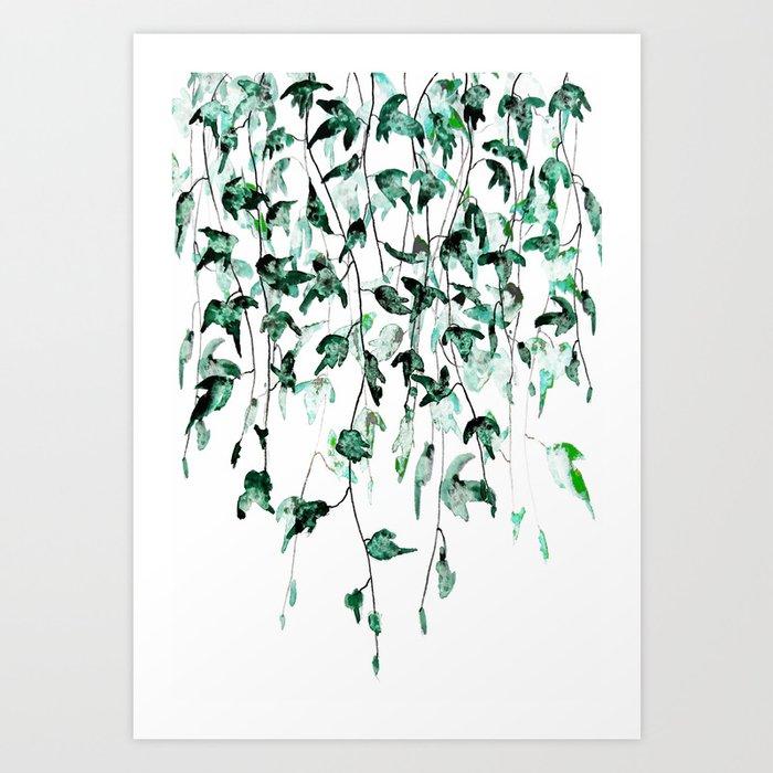 Ivy on the Wall Art Print
