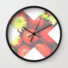 X Fresa Wall Clock