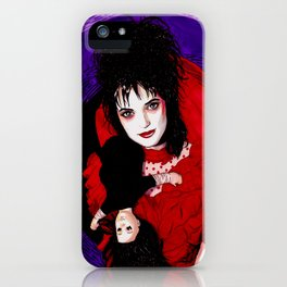 Lydia Deetz iPhone Case