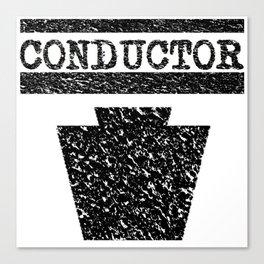 Conductor - Keystone Logo Canvas Print