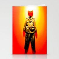 military Stationery Cards featuring MILITARY DRESS by Alejandra Triana Muñoz (Alejandra Sweet