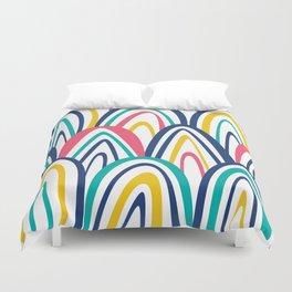 Arched Stripes Duvet Cover