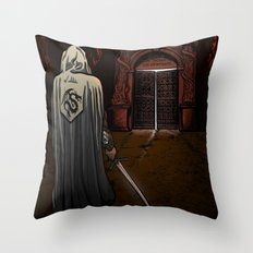 Slayer of Devils Throw Pillow