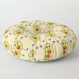 Let's Avocuddle AVOCADO Floor Pillow