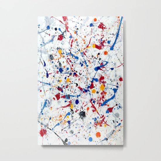 Abstract #3 - Exhilaration Metal Print