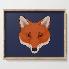 Red Fox Serving Tray