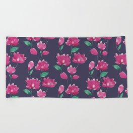 Camelia Beach Towel