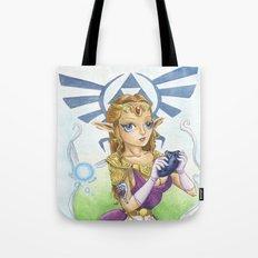 Tattooed Zelda Tote Bag