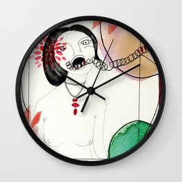 Francesca Woodman Wall Clock
