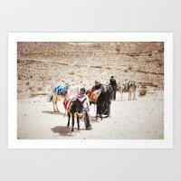 Petra, Jordan Art Print