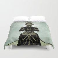 ornate Duvet Covers featuring Ornate spirituality by Barruf