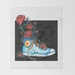 Sweet Kicks Throw Blanket