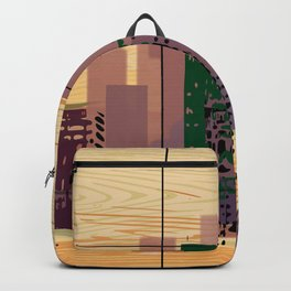 Downtown Square Backpack
