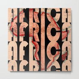 Africa 1844 Metal Print