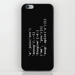 Rick Roll in Python iPhone Skin