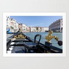 Grand Canal Venice Art Print