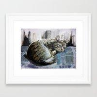monet Framed Art Prints featuring Monet by David Castillo