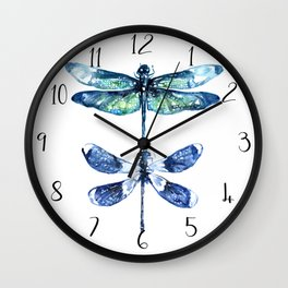 Dragonfly Wings Wall Clock