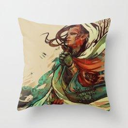 Lavellan Throw Pillow