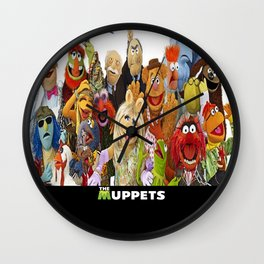 The Muppets Wall Clock