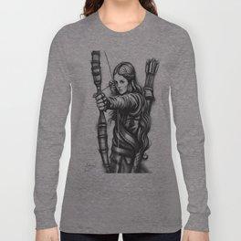 Female Warrior Long Sleeve T-shirt
