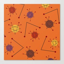 Atomic Era Autumn 2 Canvas Print