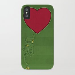 The Love of Cthulhu iPhone Case
