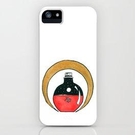 Bottled Blood Moon  iPhone Case