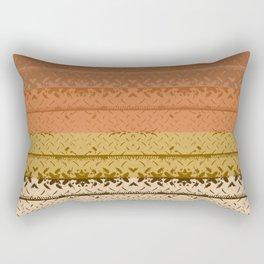 Desert Tread Plate Rectangular Pillow