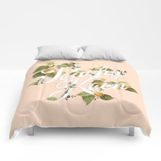 Peachy Keen : Peach Comforters